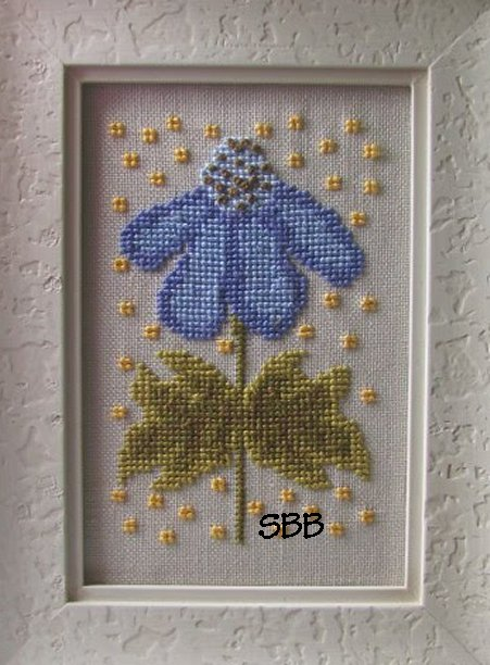 By The Bay Needleart Funky Flowers Annabelle