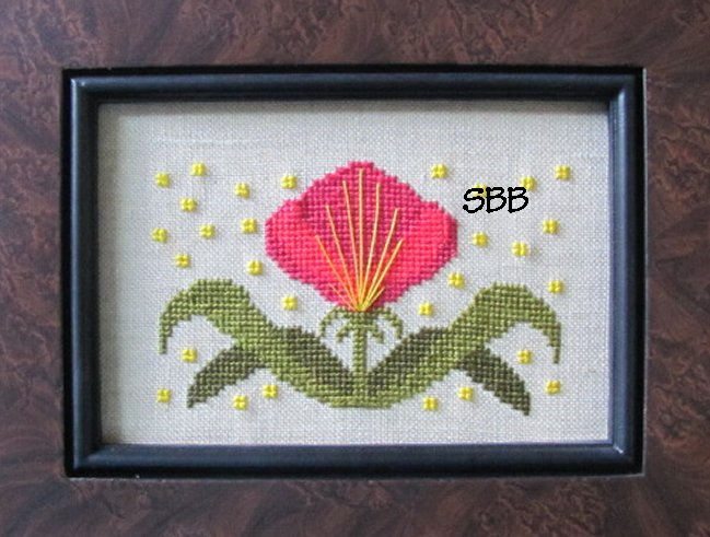 By The Bay Needleart Funky Flowers Victoria