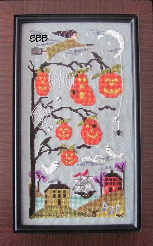 By The Bay Needleart Halloween Cove