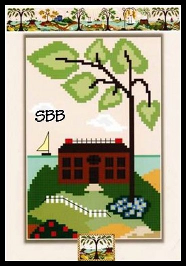 By The Bay Needleart Harbor Haven Scene #10