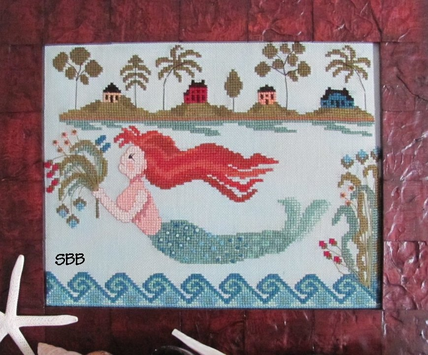 By The Bay Needleart Mermaid Cove