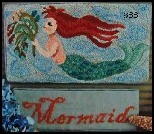 By The Bay Needleart Mermaid Punchneedle