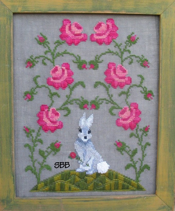 By The Bay Needleart Miss Fiona's Rose Garden
