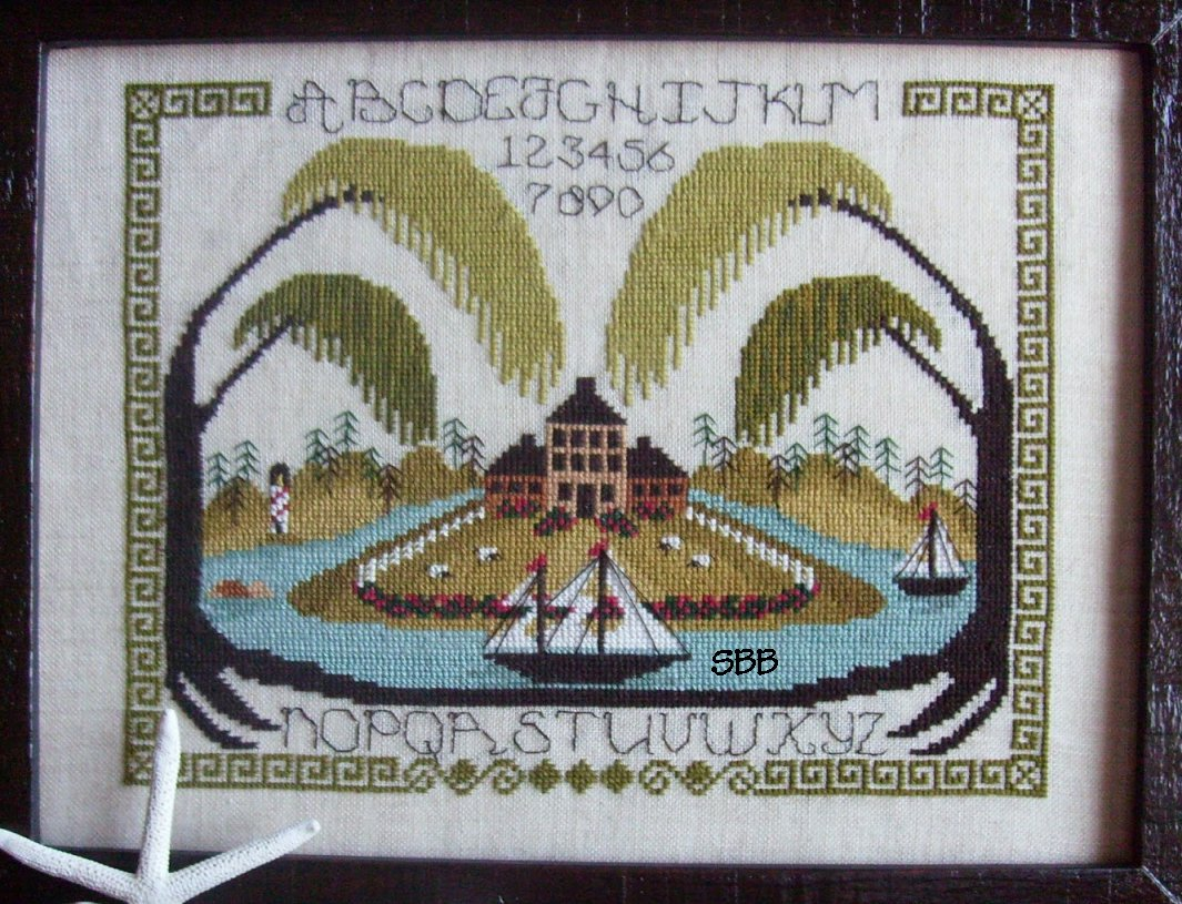 By The Bay Needleart Mystic Island Sampler
