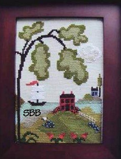 By The Bay Needleart Nantucket Village Series #1