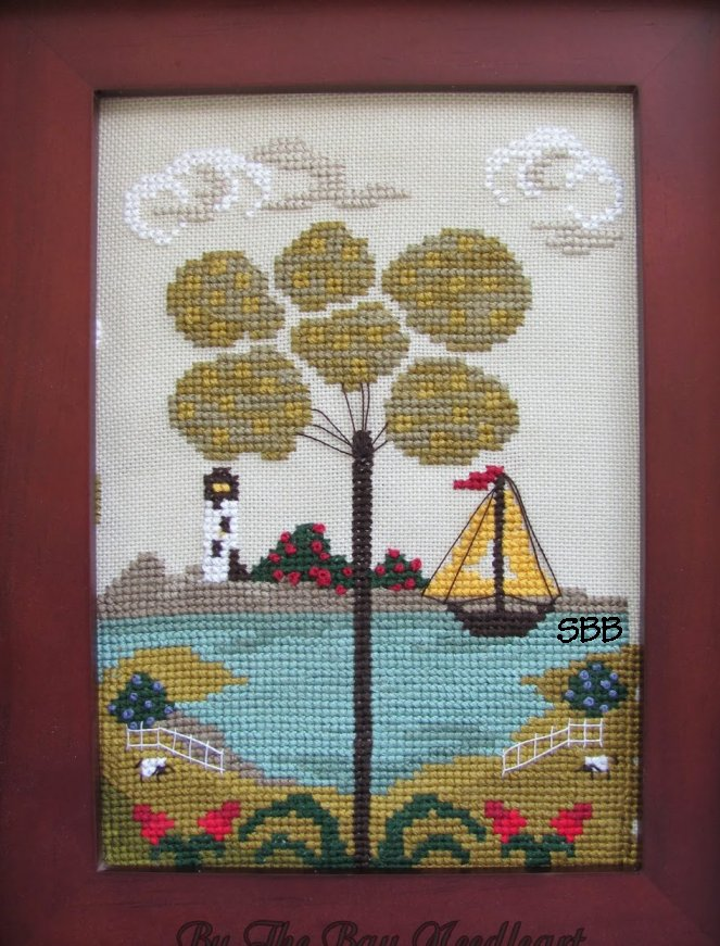 By The Bay Needleart Nantucket Village Series #2
