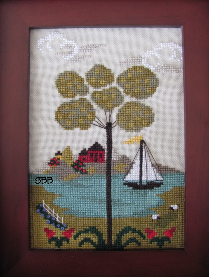 By The Bay Needleart Nantucket Village Series #4