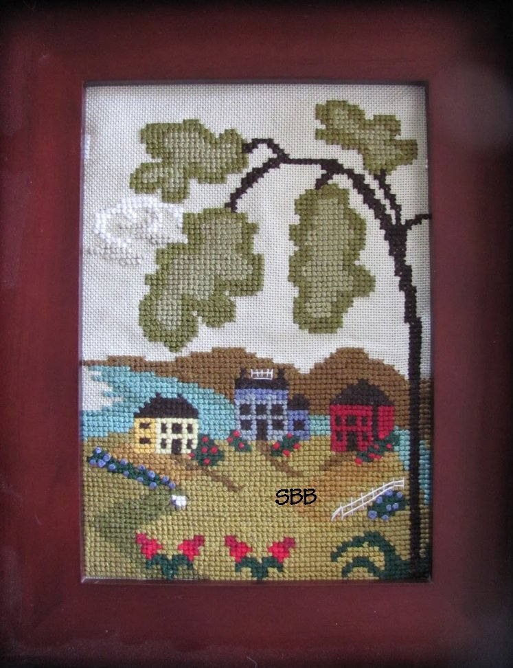 By The Bay Needleart Nantucket Village Series #5