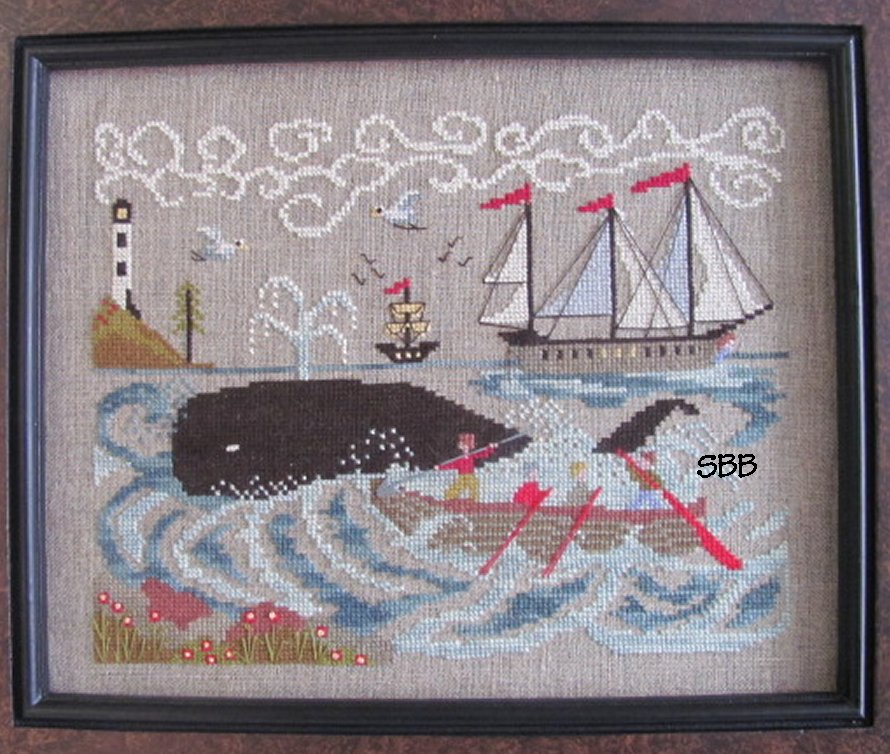 By The Bay Needleart New England Whaling Waters