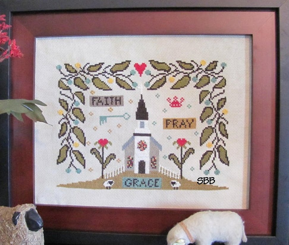 By The Bay Needleart Old South Church