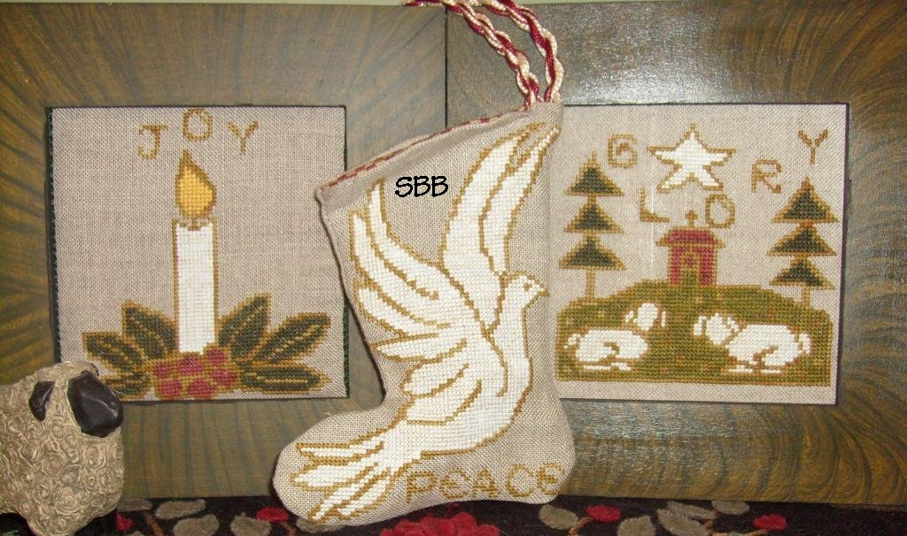 By The Bay Needleart Outline Art Christmas Pack #2