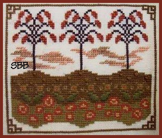 By The Bay Needleart Rolling Hills Of Autumn