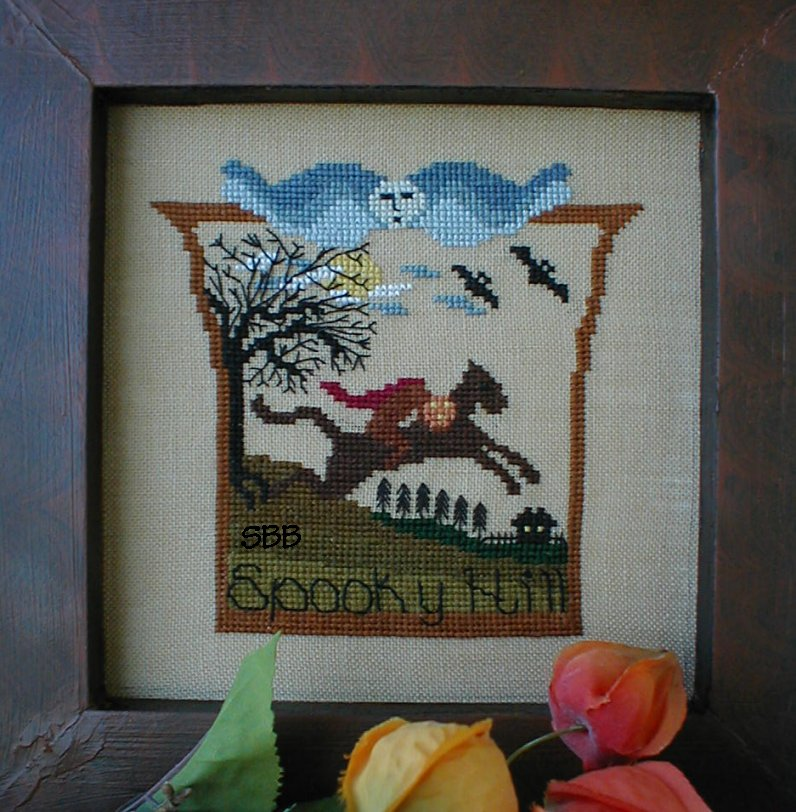 By The Bay Needleart Spooky Hill