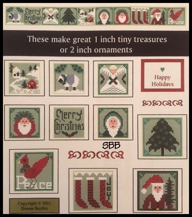 By The Bay Needleart Stitch An Inch Christmas