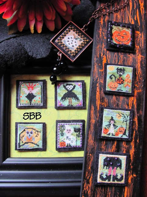 By The Bay Needleart Stitch An Inch Halloween