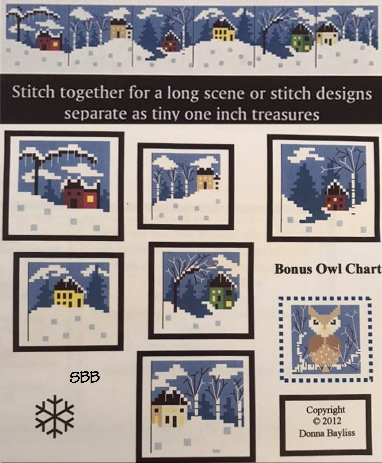 By The Bay Needleart Stitch An Inch Winter