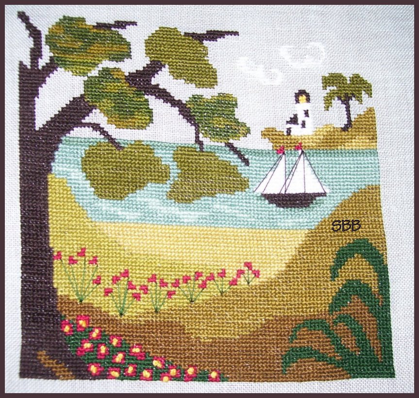 By The Bay Needleart Summer Shade