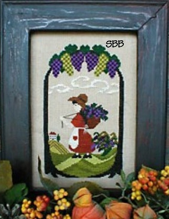 By The Bay Needleart The Gatherer Girl