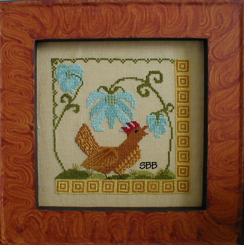 By The Bay Needleart The Hen