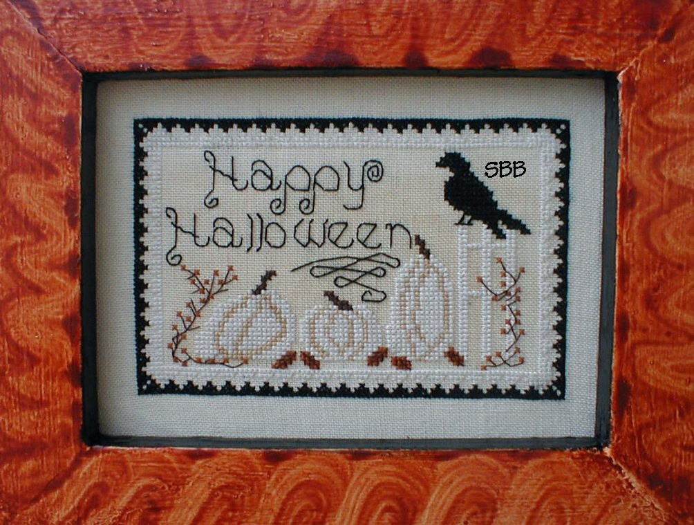 By The Bay Needleart White Pumpkin Patch