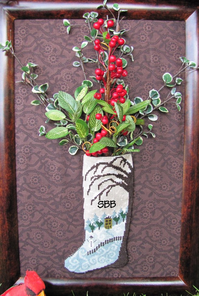 By The Bay Needleart Winter Stocking