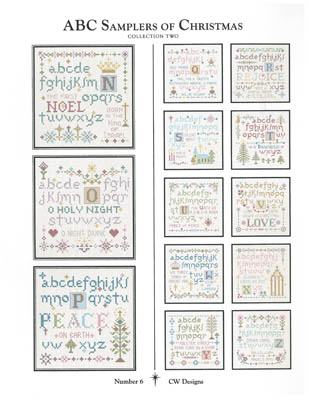 CW Designs ABC Samplers Of Christmas #2
