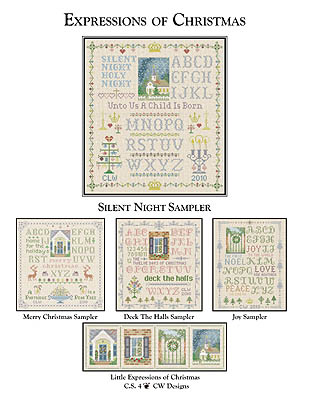 CW Designs Silent Night Sampler