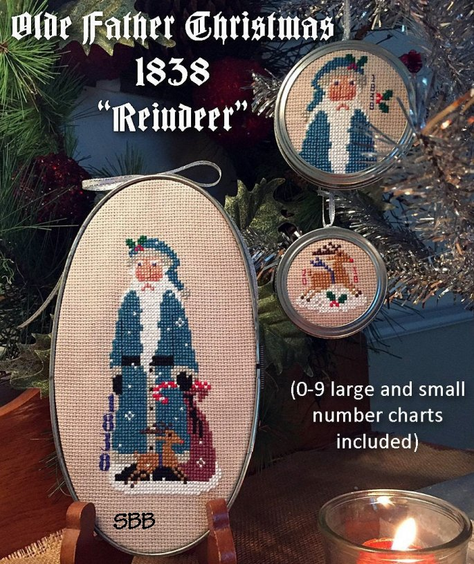 Calico Confectionery Olde Father Christmas 1838 #35160