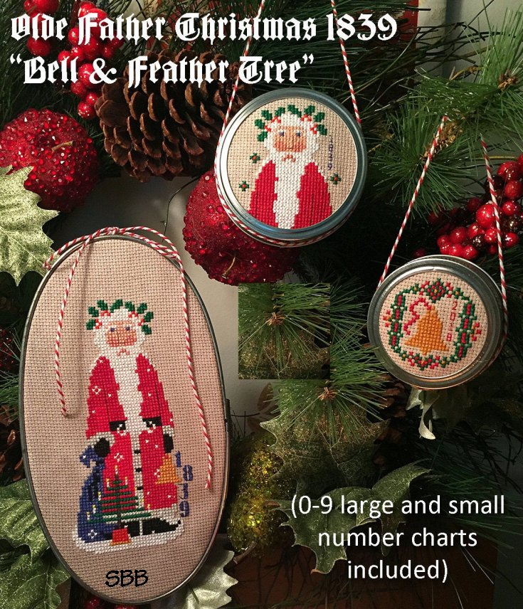Calico Confectionery Olde Father Christmas 1839 #34356