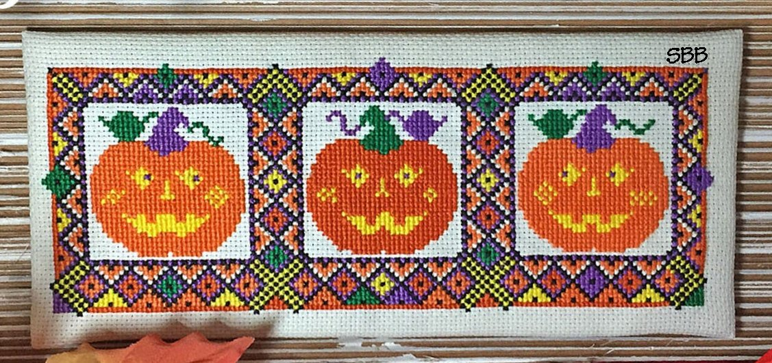 Calico Confectionery Pumpkin Tapestry #32941