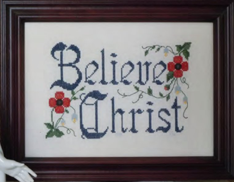 Carolina House Designs Closeout Believe Christ