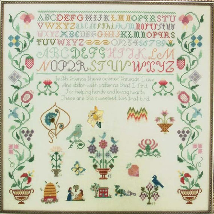 Carolina House Designs Closeout Friendship Sampler