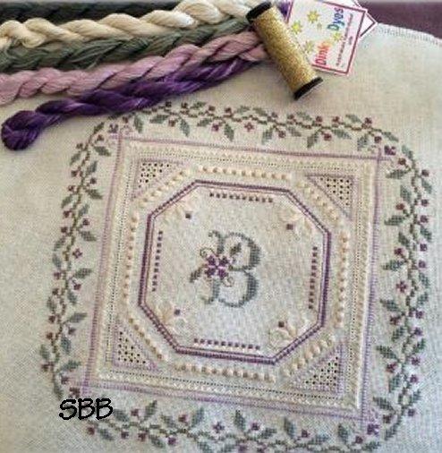 Carolyn Tinson Designs Sweet Violets