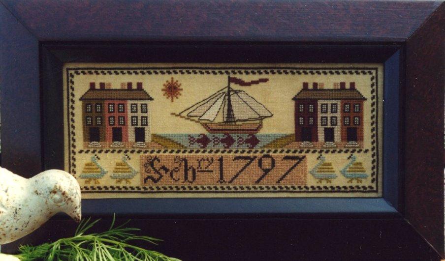 Carriage House Samplings1797 Ship