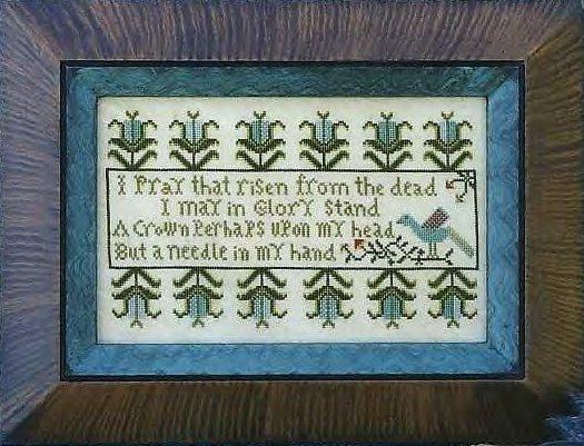 Carriage House Samplings Stitcher's Prayer