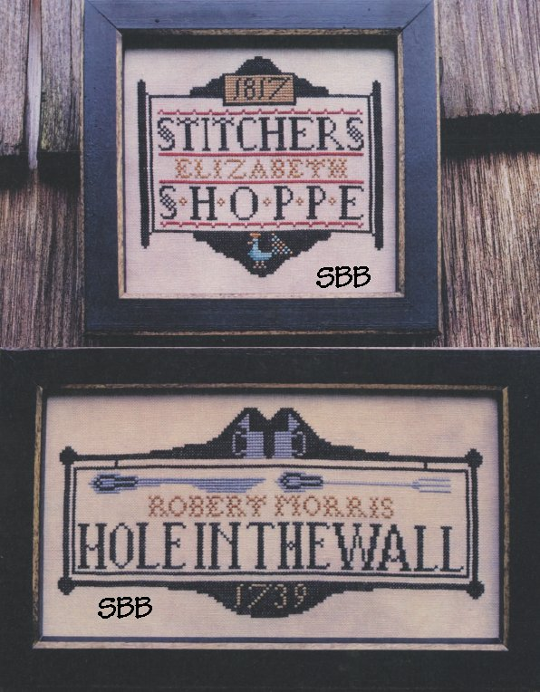 Carriage House Samplings Tavern Signs Revisited