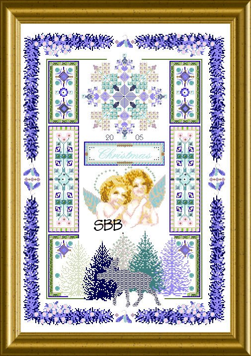Chatelaine Christ-Moose Sampler