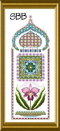 Chatelaine Flower Panels 3 ~ Cattleya