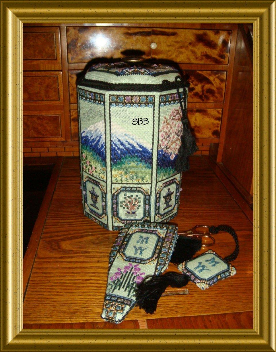 Chatelaine Japanese Octagon Box