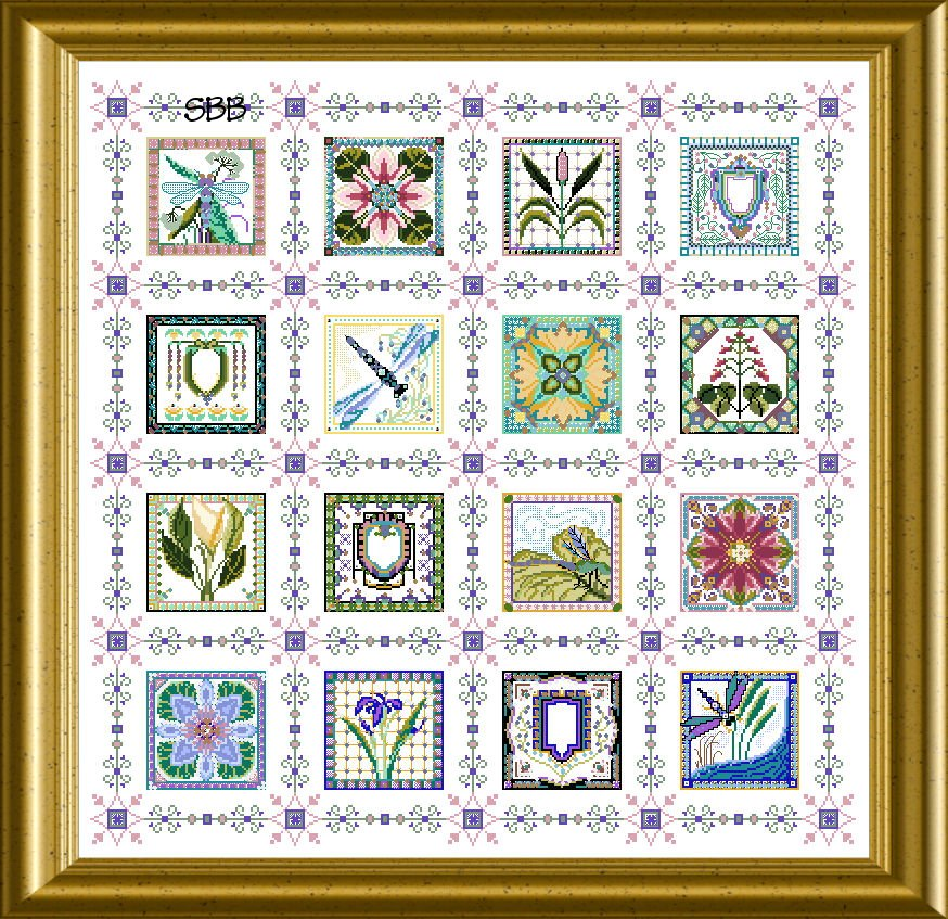 Chatelaine Waterlily Pond Quilt