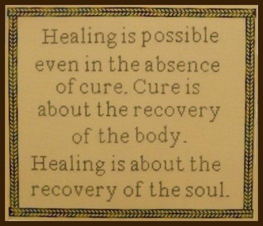 Chen Designs Healing Quote