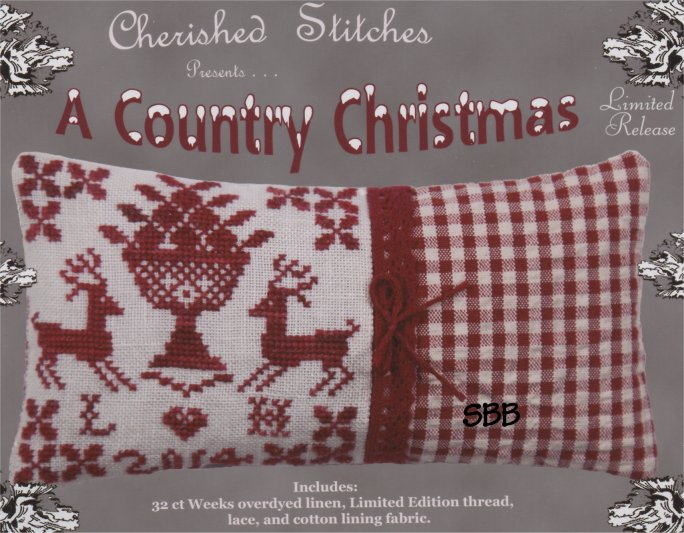 Cherished Stitches Limited Edition  Country Christmas Kit