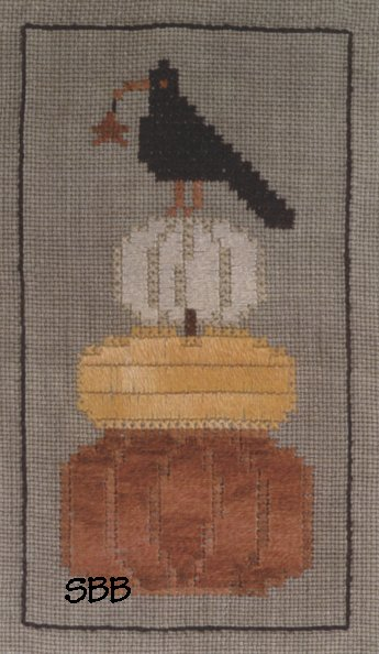 Chessie & Me Pumpkin Stack Kit with Linen