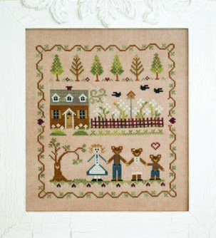 Classic Colorworks Chart by Little House NeedleworksStorybook Collection ~ Goldilocks