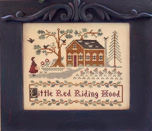Classic Colorworks Chart by Little House NeedleworksStorybook Collection ~ Little Red Riding Hood