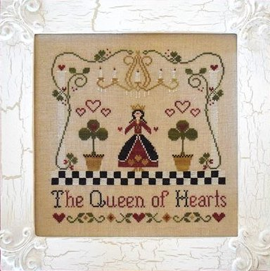 Classic Colorworks Chart by Little House NeedleworksStorybook Collection ~ Queen Of Hearts