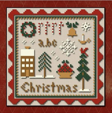 Classic Colorworks Chart by Little House Needleworks Spot Of Christmas