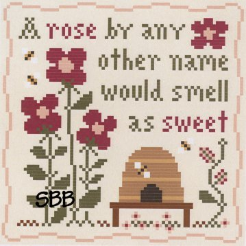 Classic Colorworks Chart by Little House NeedleworksSweet Rose