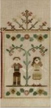 Clearance Crescent Colours & Country Cottage Needleworks#4 Autumn Couple