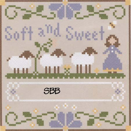 Clearance Crescent Colours & Little House NeedleworksSoft & Sweet